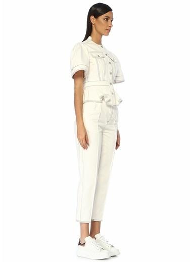 Alexander McQueen Pantolon Beyaz